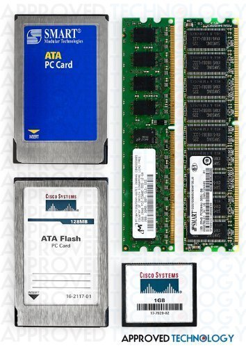 512MB Cisco Original Refurb Compact Flash card for 2800 Series MEM2800-512CF-R (Cisco 2800 Series)