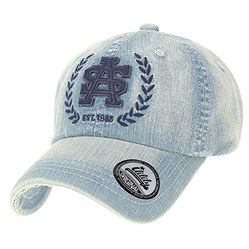 Ililily Washed Cotton Denim Vintage Trucker Hat Casual Baseball Cap