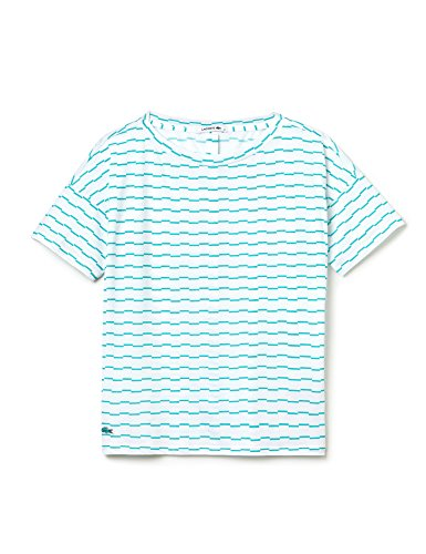 Lacoste Women's Women's Yellow V-Back Top Turquoise