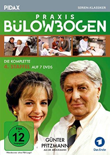 Praxis Bülowbogen, Staffel 4 / Weitere 20 Folgen der Kultserie mit Günter Pfitzmann (Pidax Serien-Klassiker) [7 DVDs]