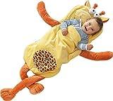 i-baby Sacchi Nanna Infantil Sacco a Pelo di Sonno Pigiami Bambino Neonato Per 3 6 12 18 Mesi 3D Cartone Animato Giraffa Gialla