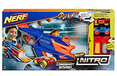 NERF Nitro Longshot Smash Die-Cast Toy