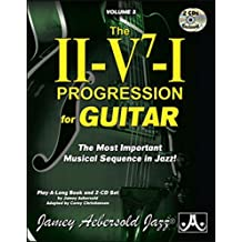 Aebersold Vol.3 The Ii/V7/I Progression For Guitar + 2 CD