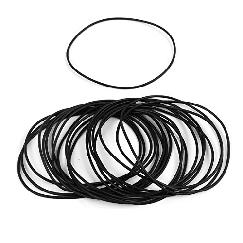 Sellify 20 Pcs 67mm x 1.5mm Rubber O-rings NBR Heat Resistant Sealing Ring Grommets