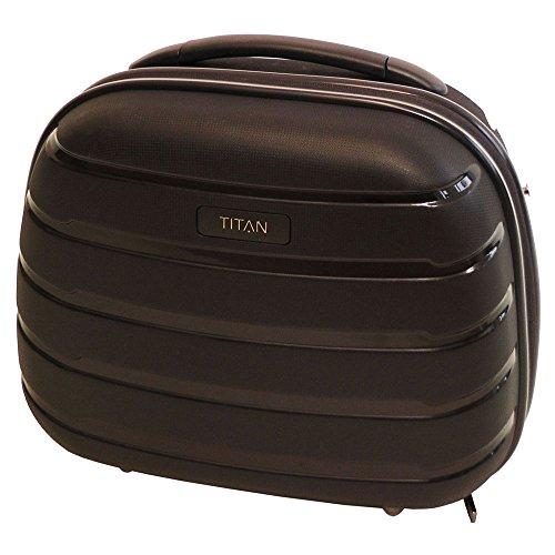TITAN LIMIT Beautycase, 823702-01 Kosmetikkoffer, 37 cm, 18 L, Schwarz
