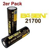BASEN 21700Batterie 4000mAh haute puissance 30A 3,7V Batterie Flat Top. très haute capacité. 2 Stück