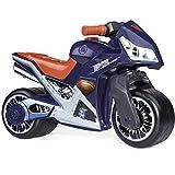 Rutsch Motorrad im Superman Design mit breiten Reifen
