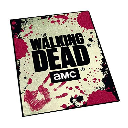 Unbekannt The Walking Dead AMC Teppich, mit Gummi-Rückseite (80x120 cm) fürs Wohnzimmer, Schlafzimmer oder ()