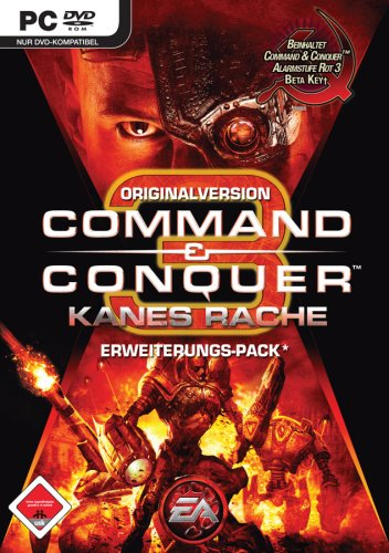 Command & Conquer 3: Kanes Rache Originalversion Add-on (DVD-ROM) - inkl. Beta-Key für Alarmstufe Rot 3