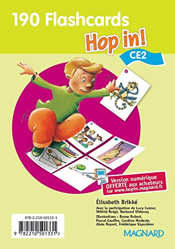 Hop in CE2 : Flascards