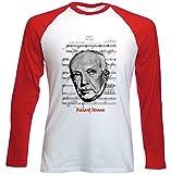 Photo de Teesquare1st Men's RICHARD STRAUSS Red Long Sleeved T-shirt Size par TEESQUARE1st