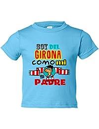 Camiseta niño soy del Girona como mi padre Jorge Crespo Cano