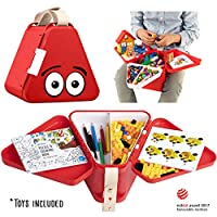 teebee - Kids Travel Toy Box | Activity Tray and Suitcase for Car and Plane | Creative play in the seat for children and toddlers | Boys and Girls