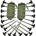 Bivvy Pegs x 20 for Fishing Bivvy / Umbrella by QDOS