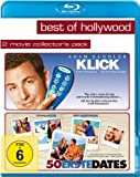Klick/50 Erste Dates - Best of Hollywood/2 Movie Collector's Pack [Blu-ray]