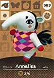 Animal Crossing Happy Home Designer, amiibo Karte Annalisa 083/100