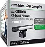 Pack Rameder barres de toit SlideBar pour CITROËN C4 Grand Picasso I...