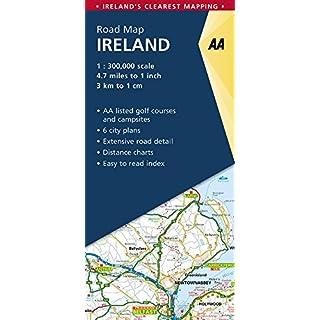 Straßenkarte Ireland - Irland 1:300 000