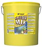 Tropical Breeder Mix Flockenfutter ohne künstliche Farbstoffe, 1er Pack (1 x 11 l)