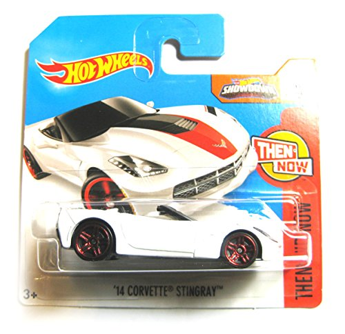 Hot Wheels Chevrolet Corvette Stingray convertible 2014 weiß 7/10 1:64 1 64 Diecast Corvette