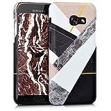 kwmobile Cover per Samsung Galaxy A3 (2017) - Custodia Rigida in plastica Dura - Hard Case Back Cover Protettiva per Smartphone Samsung Galaxy A3 (2017)