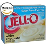 Jello Sugar Free White Chocolate Pudding Mix 28g