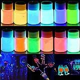 farben die im dunkeln leuchten - Vergleich von