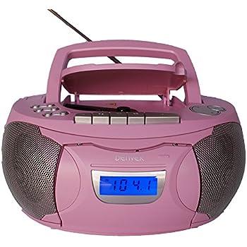 kinder m dchen stereoanlage cd player radio elektronik. Black Bedroom Furniture Sets. Home Design Ideas