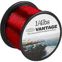 Fladen Vantage Pro Bulk 1/4lb Bobine di mare extra forte di monofilamento Pesca Linea (Rosso)–disponibile in 15, 20, 25e 30lbs, Red, 20lb / 10.4kg to 0.45mm (576m) - Bobine 20 Pound