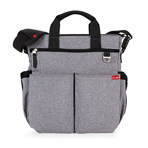 Skip Hop Duo Signature - Bolso, color gris