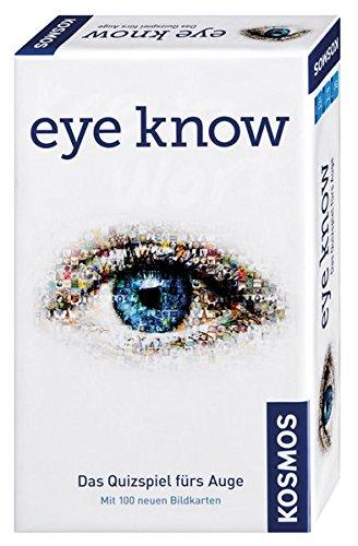 KOSMOS 711276 - Eye Know Das Quizspiel fürs Auge mit 100 Bildkarten, Brettspiel