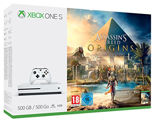 Xbox One S 500 GB + Assassin's Creed Origins [Bundle]