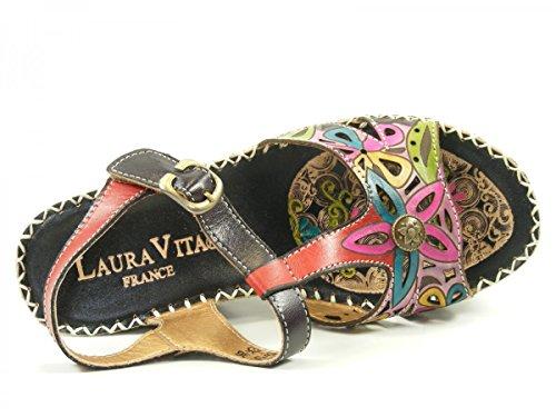 Laura Vita LMD1645-25 Balade 25 Sandales Mode Femme Violet