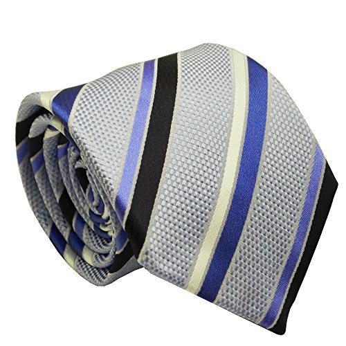 efeel® (NT051) Baby Blue Silk Men Necktie Formal Tie