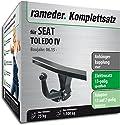 RAMEDER Komplettsatz, Anhängerkupplung starr + 13pol Elektrik für SEAT TOLEDO IV (143231-10880-1)