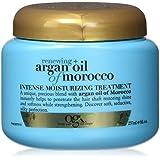 OGX Moroccan Argan Oil Renewing Treatment - hair oils (Women, Shine, Water (Aqua), Cetearyl Alcohol, Dimethicone, Cyclopentasiloxane, Glycerin, Cetyl Alcohol, Glyceryl S, You can use the Moroccan Argan Oil Intensive Moisture Treatment several ways depending on your hair)
