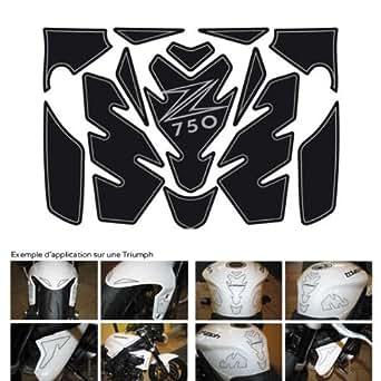 Protection de reservoir Moto FULL KIT KAWASAKI Z750 Noir