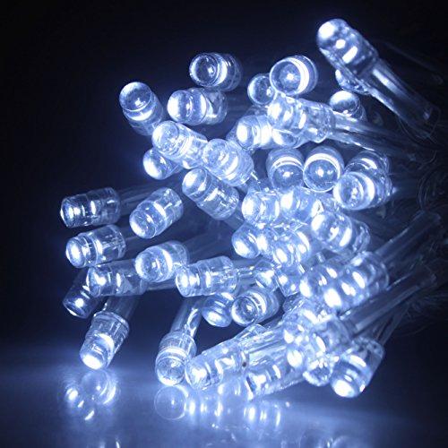 ALED LIGHT® 10M 100 LEDs Luce Bianca / Bianco Caldo / RGB Luci Decorative Per il Giardino Intorno Alla Casa / Sala Da Concerto / Sala Matrimoni / Ristorante / Centro Commerciale / Albero Di Natale (bianco freddo)
