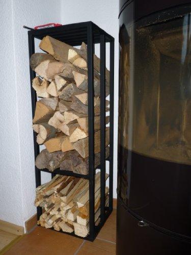 Bois de chauffage Rack, Modèle Paris,étagère de bois, porte-bois Bois de chauffage rack