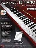 J'apprends le piano tout simplement Vol.2 + CD