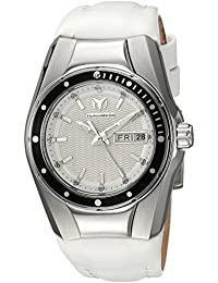 Technomarine Women's 'Cruise' Quartz Stainless Steel and Silicone Casual Watch, Color:White (Model: TM-115389)
