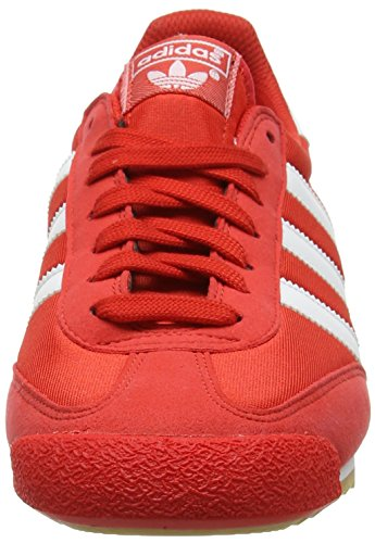 Adidas Dragon Og, Baskets Basses Pour Homme Rouge (rouge / Blanc / Gomme)