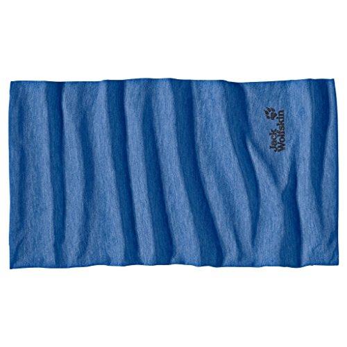 Jack Wolfskin Unisex Leichtes, schnelltrocknendes Mikrofaser-Schlauchtuch, peacock blue, ONE SIZE