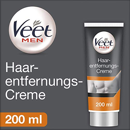 Veet for Men Crema Depilatoria para hombre Piel normal 200ml