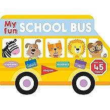 My Fun School Bus Lift-The-Flap