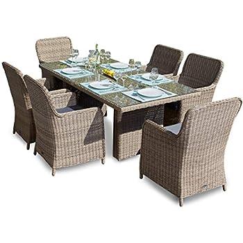 Amazon.de: bomey Rattan Lounge Set I Gartenmöbel Set Sofa