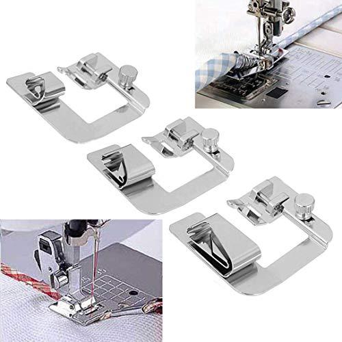 """Tornillo de máquina de coser doméstica en Caña Baja 3//8/"""" dobladillo Caña soporte de Hemmer"""
