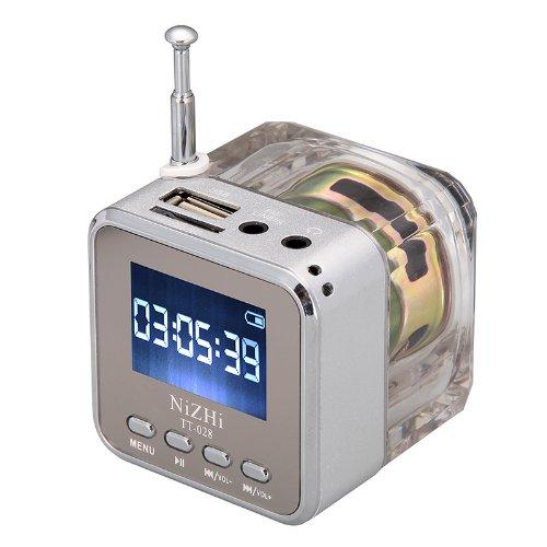 Andoer mini digital portátil altavoz de la música - MP3/4 Player Micro...