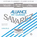 Savarez Saiten für Klassikgitarre Alliance HT Classic 540J Satz High Tension blau