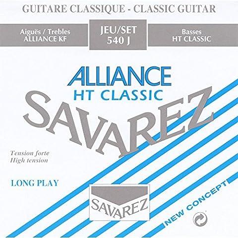Guitares Classiques - Savarez Alliance HT Classic 540J Jeu de